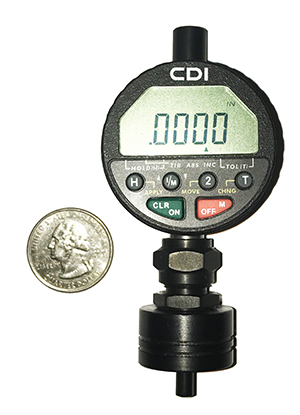 electronic indicator depth gage